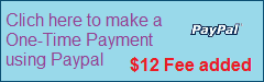 One-Time PayPal Payment